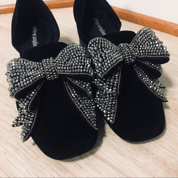 5d8a1d08574 JEFFREY CAMPBELL Valenti Bow Loafer (9.5)